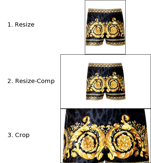 Figure 3. Different Image Modes